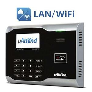Wi fi Employee Attendance Management Time Clock Track Office Business Commercial