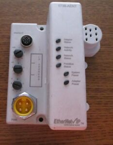 Allen Bradley 1738 aent Ethernet Ip Module Used Free Shipping