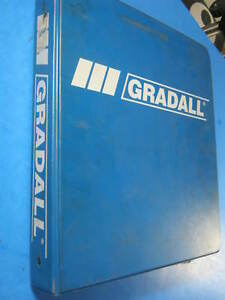 Gradall G3wd Combined Master Parts Catalog 7739 4007 1999