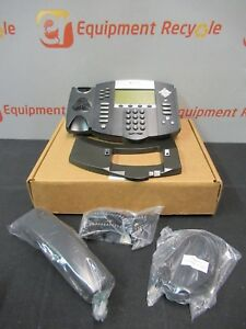 Polycom Ip650 Soundpoint 6 Line Ip Phone Poe Support Hd Voice 24vdc 500ma New