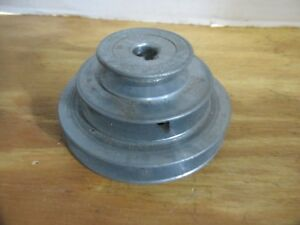 Congress Tool And Die Co 4 3 2 Step Pulley 1 2 Shaft Keyed 4 3 2 Lqqk