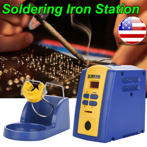 Fx 951 110v 75w Power Iron Frequency Change Desolder Welding Soldering Station