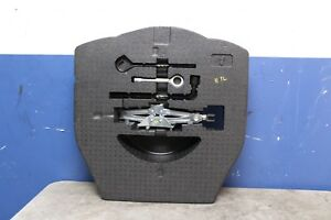 2009 2014 Acura Tl 3 5l Spare Wheel Jack Kit Holder Foam Trunk Floor Oem 2011 09