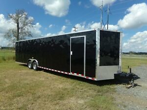 2019 Enclosed Cargo Trailer Car Hauler 8 5x32ta 8 5x32