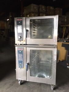 Rational Self Cooking Center Combi Ovens Sccwe 62 102 Double Stack 3 Phase