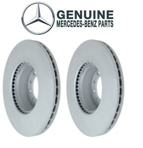 For Mercedes R107 W116 W126 Front Left And Right Vented Disc Brake Rotor Genuine