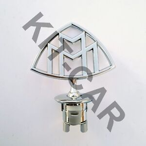 Maybach Style Hood Ornament Emblem Badge Mercedes Benz S class W222 S600 S500
