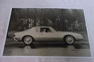 1963 Studebaker Avanti Side View 11 X 17 Photo Picture