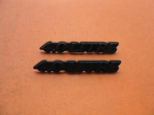 95 96 97 Jaguar Xj Xj6 4 0 Litre Side Pillar Emblem Logo Badge Sign Symbol Set
