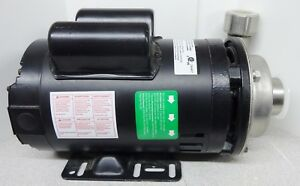 Dayton Stainless Steel Centrifugal Pump 1 1 2 Hp 115 230v 17 0 8 5 Amp 4jmv9