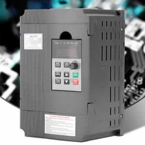1 5kw 2hp Vfd 8a Single Phase Motor Speed Variable Frequency Drive Inverter