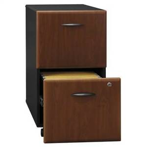 Hansen Cherry Double Drawer Assembled File Cabinet Series A id 2538