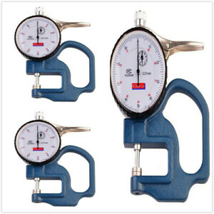 3pcs Dial Thickness Gauge 0 001mm Tester Meter Paper Film Leather Measuring Tool
