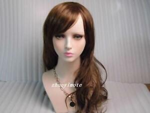 Realistic Young Girl Mannequin Head Model For Wig Jewelry And Hat Display