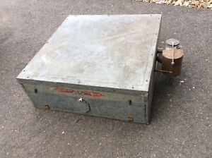 Very Nice Vtg the Old Trusty Incubator Chicken Duck Goose Hatcher N r