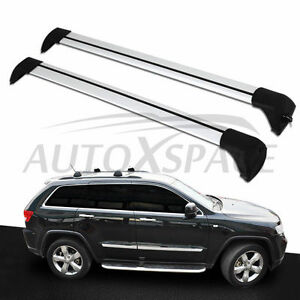 Fit For Jeep Grand Cherokee 2011 2018 Baggage Luggage Roof Rack Rail Cross Bar