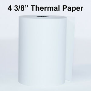 4 3 8 X 80 Thermal Paper 50 Rolls