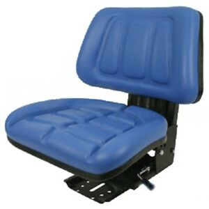 Blue Ford New Holland 600 601 800 801 Fullback Tractor Suspension Seat aiu
