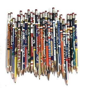 Lot Of 43 Nfl Play Football Lead Pencils Vintage Chiefs Packers Redskins Seahawk