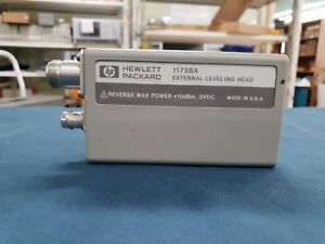Hp Agilent 11758a External Leveling Head For 11758a Digital Radio Test Set