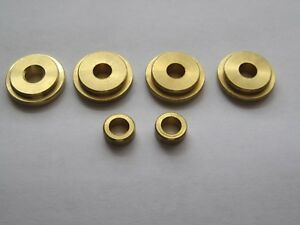 6 Brass Bushings Spacers Enderle Dual Carb Linkage Kit Supercharger 6 71 Blower
