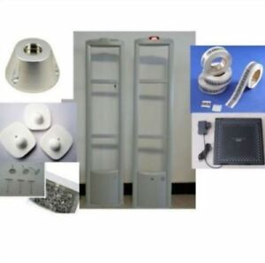 Retail Store 8 2mhz Security System Checkpoint With Tag And Label Tool
