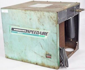 Speedaire 3z529 Industrial Refrigerated Compressed Air Dryer 104 126vac Parts