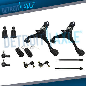 Lower Control Arms Tierods Sway Bars For 2001 2002 2005 Civic Sedan Coupe