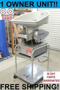 Hollymatic Super 54 Automatic Meat Portion Patty Maker Stamping Molding Machine