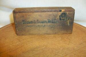 Brown And Sharpe Micrometer Caliper In Box
