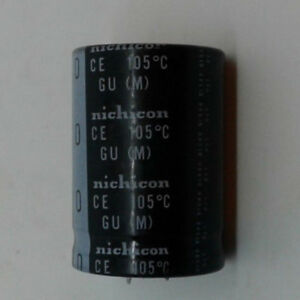 Nichicon Electrolytic Capacitor 470uf 450 V Shipped From Usa great Deal
