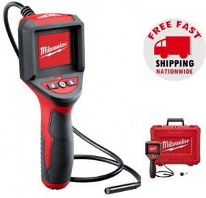 Milwaukee M spector Inspection Lcd Color Camera Scope Tool Plumbing Diagnostic