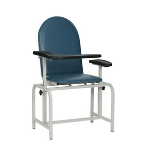 Winco 2573 Blood Draw Chair gray
