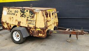 Atlas Copco 185 Cfm Air Compressor Xas 90 John Deere Engine Ready To Work