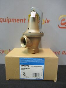 Watts 174a M Safety Pressure Relief Valve 1 1 2 30 Psi New