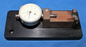 Mitutoyo 1410 Dial Indicator Gage With Gage Caddy Platform