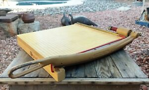 Vintage Ingento 5 Industrial Guillotine Paper Cutter Trimmer 15 X 15