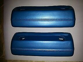 68 71 Dodge Dart Plymouth Valiant 332 Light Blue Metallic Arm Rest Pads New