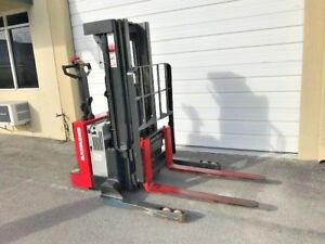 2017 Raymond Electric Forklift Walkie Stacker 2019 Battery 229 Hrs W charger