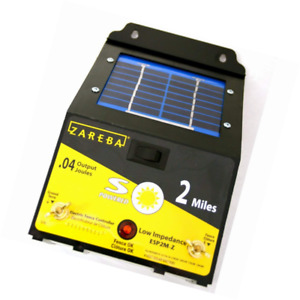 Zareba Esp2m z 2 mile Solar Low Impedance Electric Fence Charger