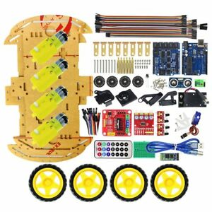 Multifunction Bluetooth Controlled Robot Intelligent Car Kits For Arduino Diy As