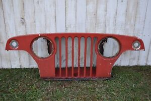 Jeepster Commando Factory Original Grill Grille Jeep 1967 70