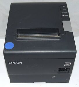 Epson Tm t88v M244a Thermal Printer Usb serial refurbished free S h