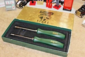 New Snap On 75th Anniversary Screw Drivers 1920 1995 Screwdriver Set Green Rare