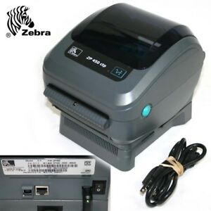 Zebra Zp 450 Ctp Thermal Label Barcode Printer Was Working Now Not So Much