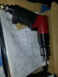 Chicago Pneumatic Drill Rp9285 2900 Rpm 4 Ft lbs 3 8 Chuck