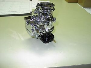 Brand New 1932 Ford Roadster Coupe Chrome Stromberg 97 Carb Carburetor