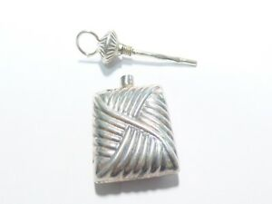 Awesome Sterling Silver Perfume Bottle Pendant 10 32 Gm