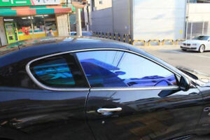 Chameleon Mirror Chrome Window Tint Film Decorate Car Office Glass Length 119
