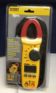 Sperry Instruments Digital Clamp Meter dsa540a 26 Ranges 10 Functions brand New